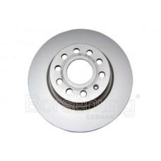 диск тормозной передний (280х22)