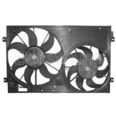 кожух вентиляторов (радиатора и кондиционера) с дв